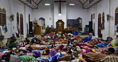 LOOK: Catholic Churches in Albay also serve as evacuation centers for all denominations