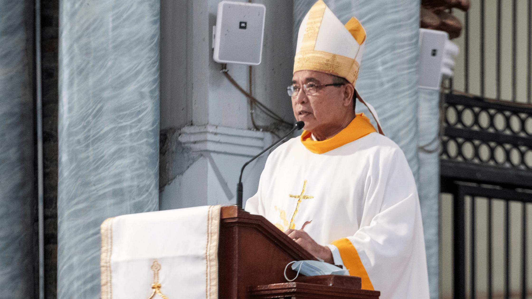Bishop Crispin Varquez of Borongan