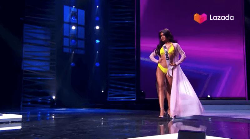 Rabiya Mateo stuns in hot yellow bikini at the Miss Universe 2020 preliminary competition