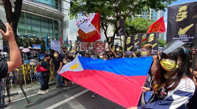 WEST PH SEA- China protest