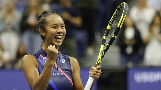 US Open Leylah Fernandez